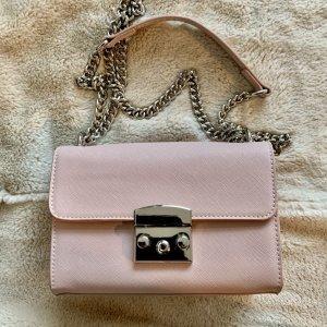 BERSHKA Minibag in zart Rosé