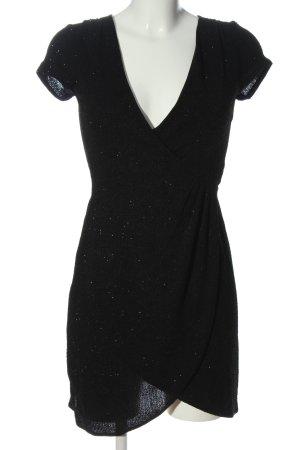 Bershka Minikleid schwarz meliert Elegant