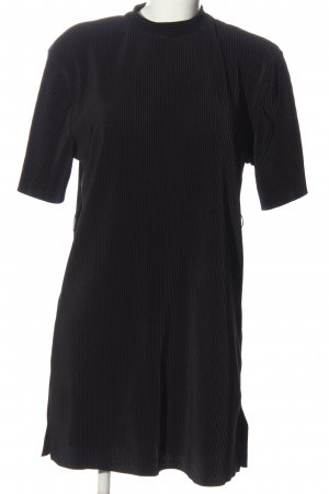 Bershka Minikleid schwarz Casual-Look