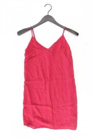 Bershka Minikleid Größe XS rot aus Polyester