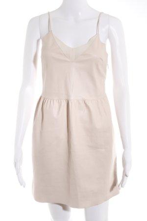 Bershka Minikleid nude-weiß Elegant