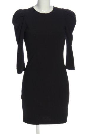 Bershka Minikleid schwarz Business-Look