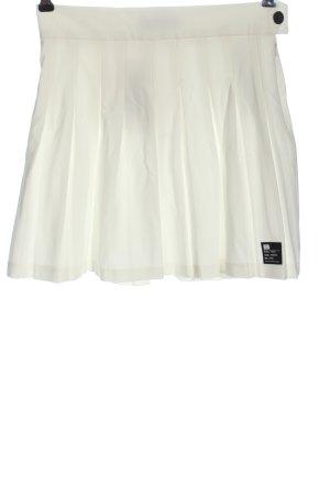 Bershka Miniskirt white casual look