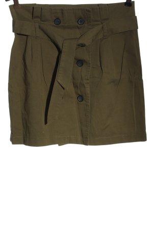 Bershka Mini-jupe brun style décontracté
