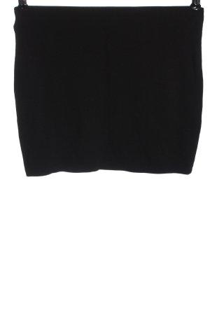 Bershka Minirock schwarz Elegant