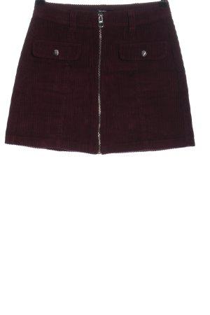 Bershka Miniskirt red casual look