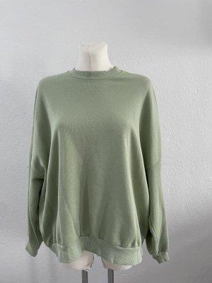 Bershka Mint Pullover gr L grün Usedlook