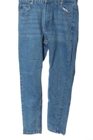 Bershka Mom-Jeans blau Casual-Look