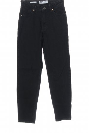 Bershka Mom-Jeans schwarz Casual-Look