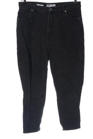 Bershka Mom-Jeans czarny W stylu casual