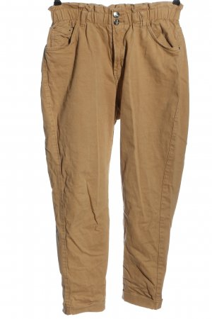 Bershka Mom-Jeans nude Casual-Look