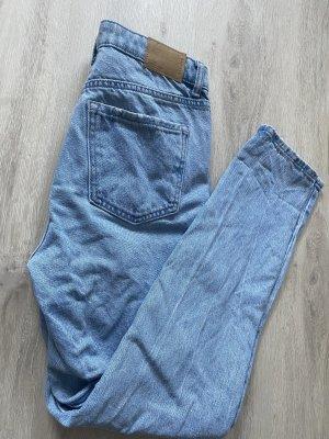 Jeans baggy bleu azur