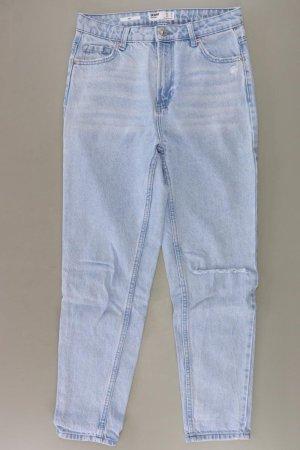 Bershka Mom Jeans Größe 36 blau aus Baumwolle