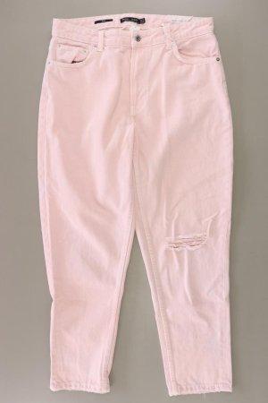 Bershka Mom Jeans Größe 42 neu mit Etikett rosa aus Baumwolle