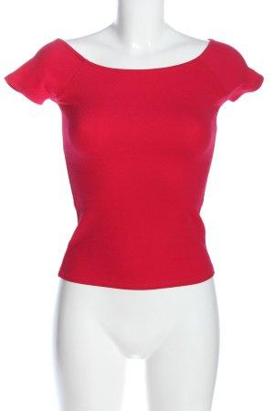 Bershka Muscle Shirt red casual look