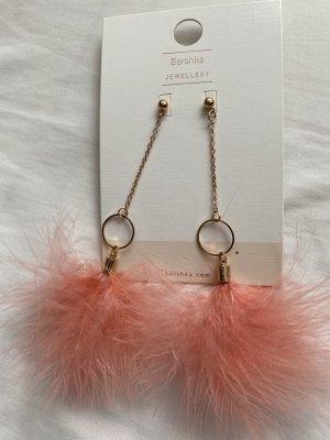 Bershka Ohrringe Federn Modeschmuck