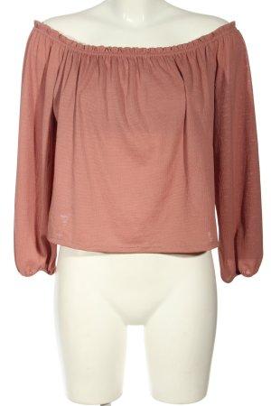 Bershka Oversized Shirt braun Casual-Look