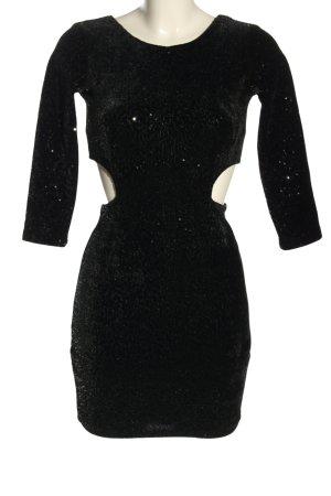 Bershka Sequin Dress black elegant