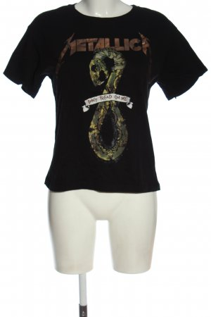Bershka Print-Shirt Motivdruck Casual-Look
