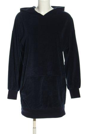 Bershka Vestido tipo jersey negro look casual