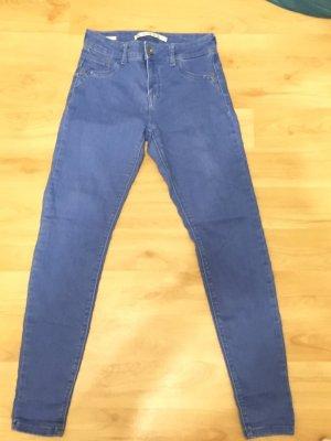 bershka push up medium waist jeans