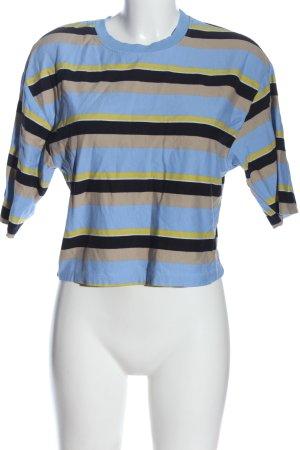 Bershka Stripe Shirt striped pattern casual look