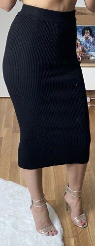 Bershka Jupe tricotée noir