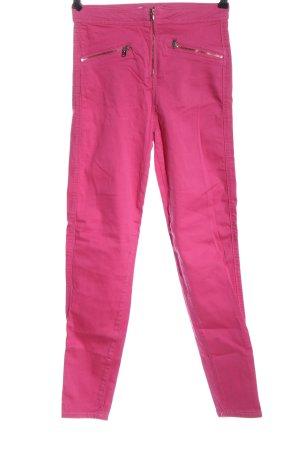 Bershka Jeans a sigaretta rosa stile casual
