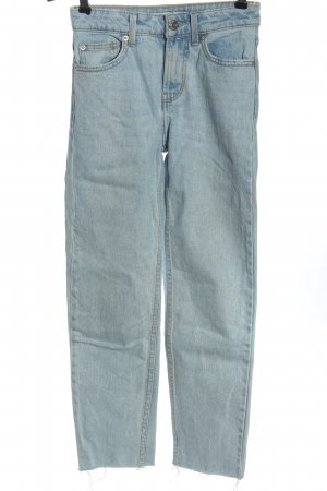 Bershka Tube Jeans blue casual look