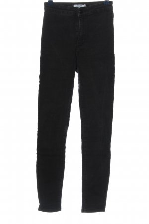 Bershka Tube jeans zwart casual uitstraling