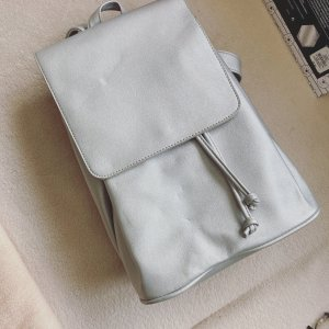 Bershka Trekking Backpack light grey