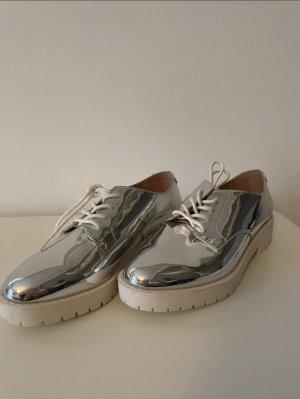 Bershka Schuhe Silber
