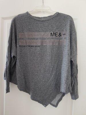 Bershka Maglietta sport grigio