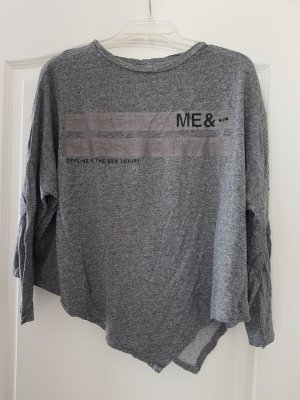 Bershka Sports Shirt grey