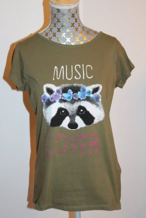 "Bershka Shirt  Gr. S ""Music Lover"""