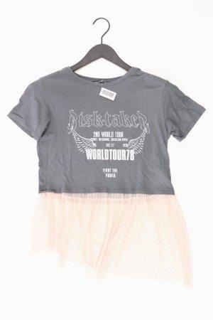 Bershka Shirt grau Größe S