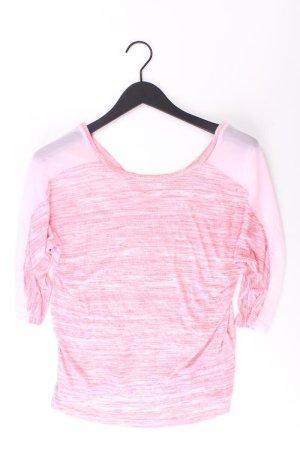 Bershka Shirt Größe S 3/4 Ärmel pink aus Polyester