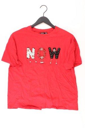 Bershka Shirt rot Größe XS