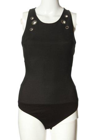 Bershka Shirt Body black casual look