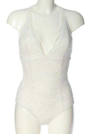 Bershka Body blanc style décontracté