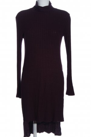 Bershka T-shirt jurk zwart casual uitstraling