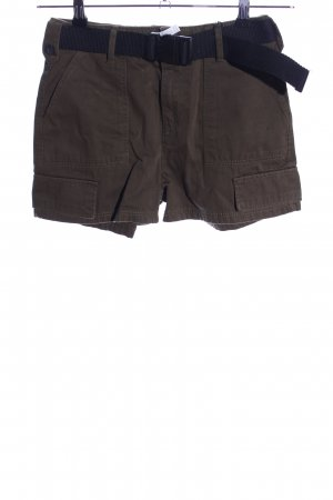 Bershka Shorts braun Casual-Look