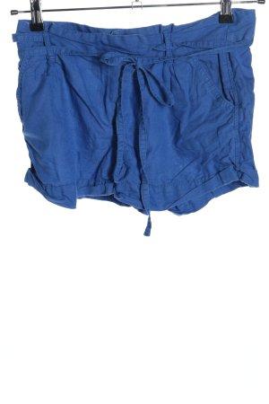 Bershka Shorts blau Casual-Look
