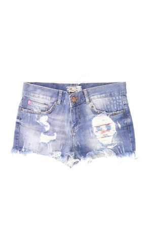 Bershka Shorts blau Größe 36