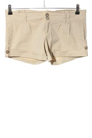 Bershka Shorts creme Casual-Look