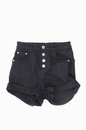 Bershka Shorts schwarz Größe 36