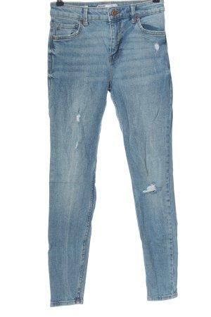 Bershka Jeans skinny blu stile casual