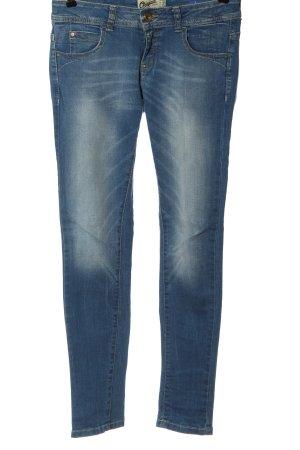 Bershka Skinny Jeans blau Casual-Look