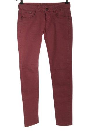 Bershka Skinny Jeans pink Casual-Look