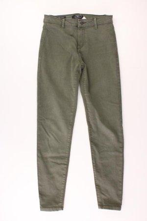 Bershka Jeans skinny verde oliva